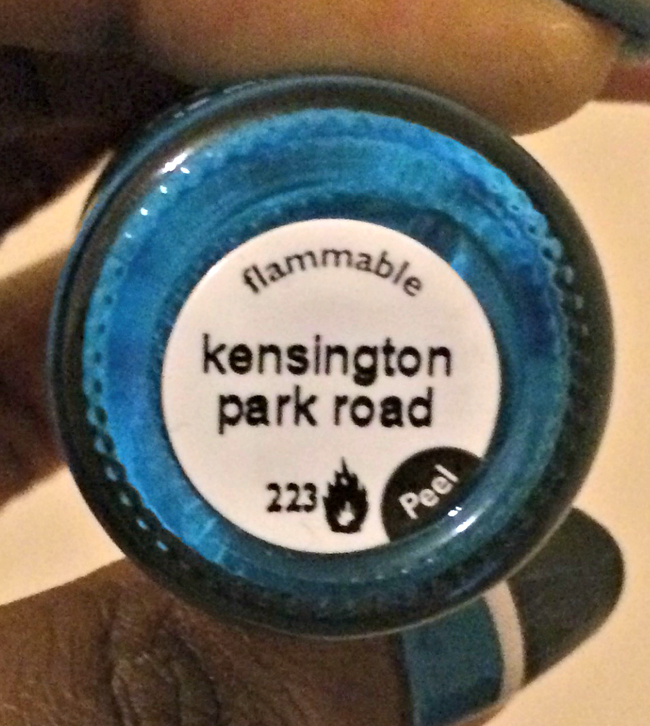 kensington park road shade nail polish