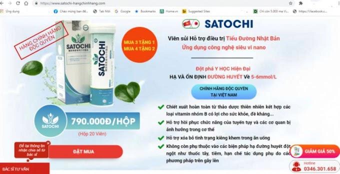 Cảnh báo về sản phẩm Satochi, Mộc Linh Chi Body Weight quảng cáo sai quy định