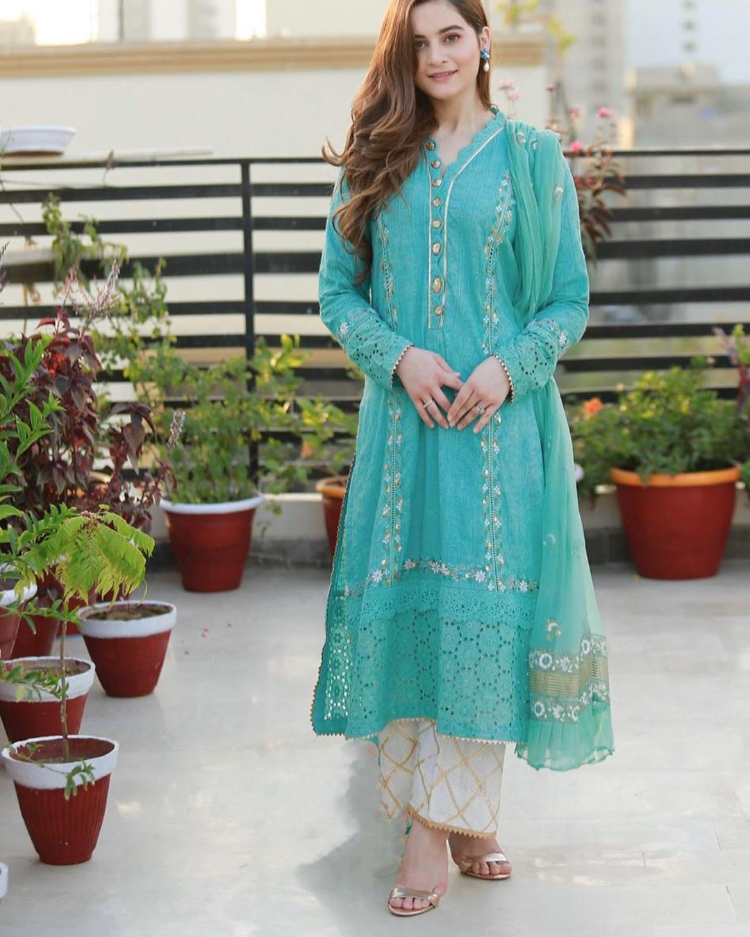 Aiman Khan Dress Design