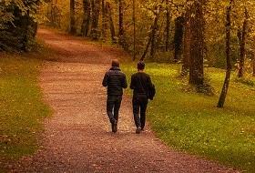 المشي قبل وجبة كسر الصيام