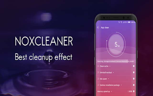 NoxCleaner – Phone Cleaner, Booster, Optimizer v2.5.7 - Tối ưu hóa Android
