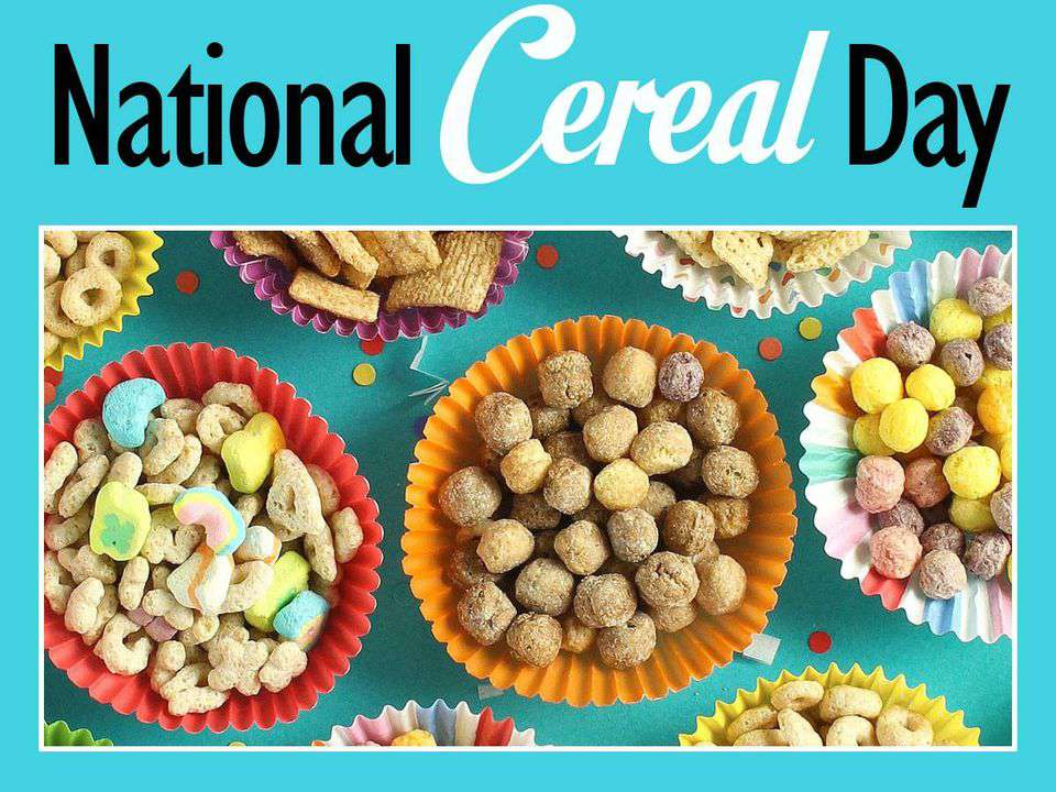 National Cereal Day Wishes for Instagram