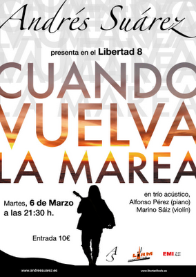 Cartel Andrés Suárez