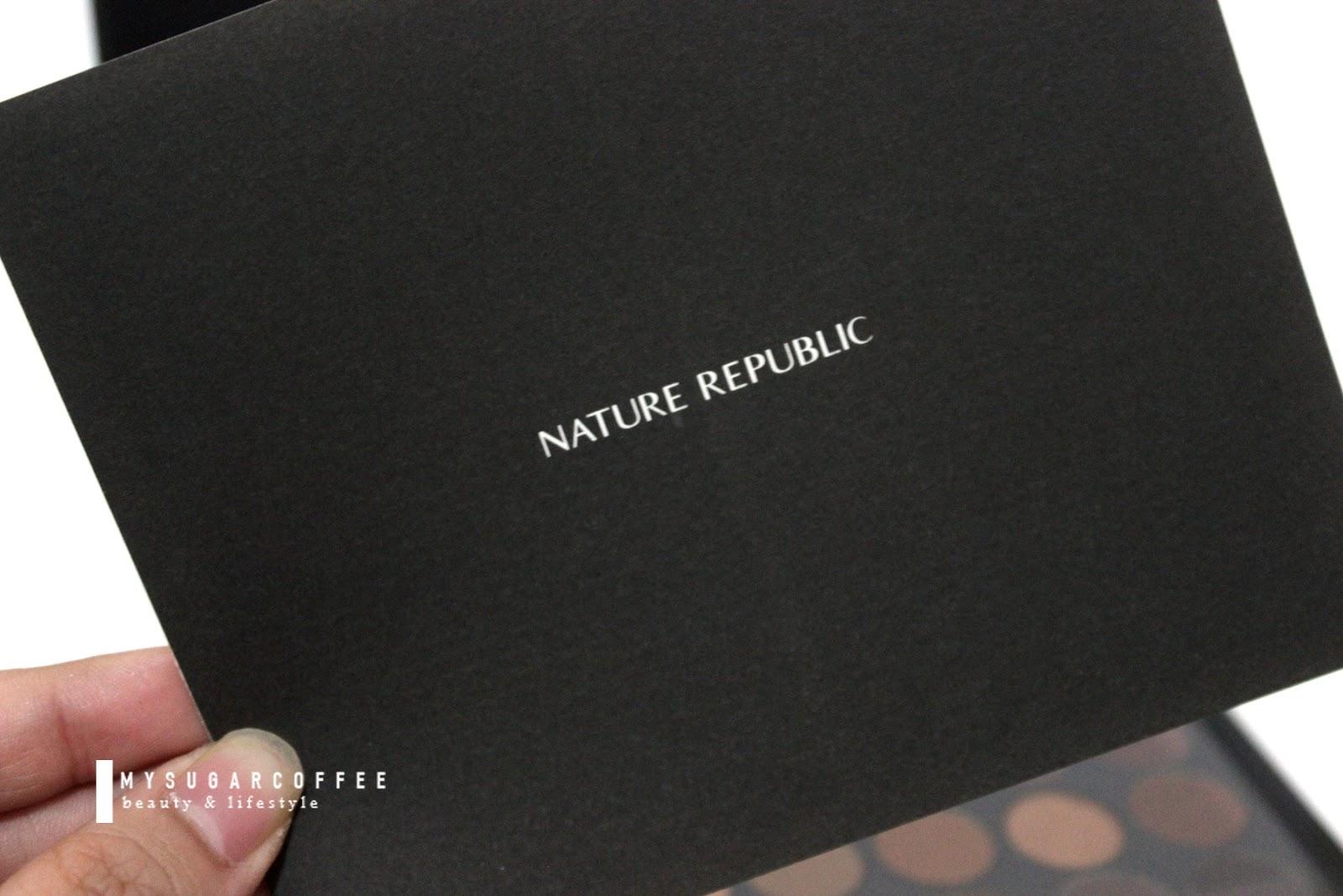 Nature Republic Pro Touch Color Master Shadow Palette Review