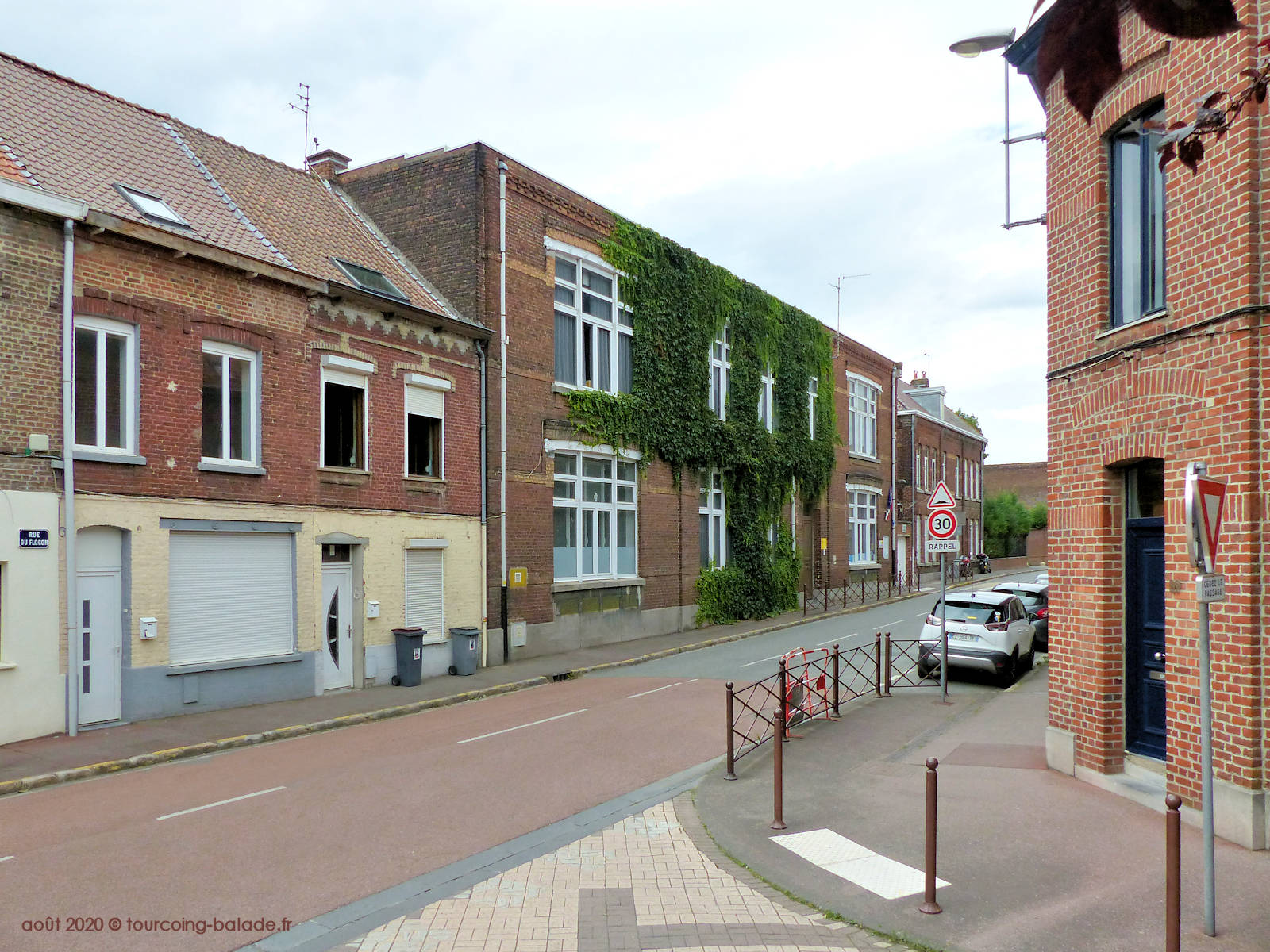 Rue du Flocon Tourcoing 2020 - École Jean Macé