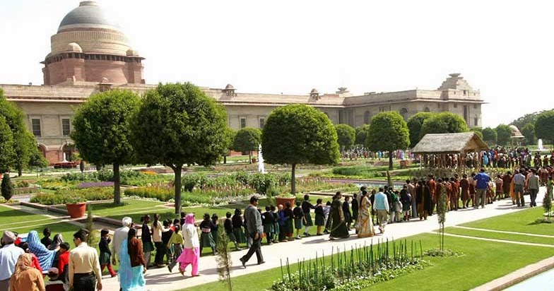 2018 mughal garden rashtrapati bhawan open close days Mughal garden booking