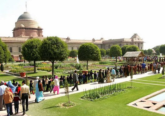 2019 Mughal Garden - Rashtrapati Bhawan: Open/Close Days,Timings & What to Expect | Delhi Darshan | Delhi Sightseeing - HOHO Bus