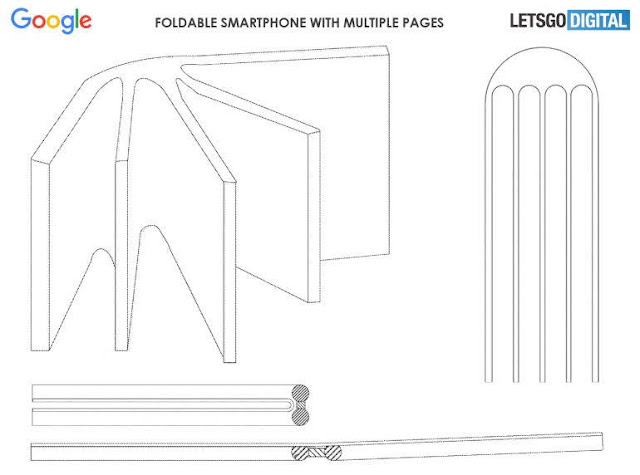 Google folding phone