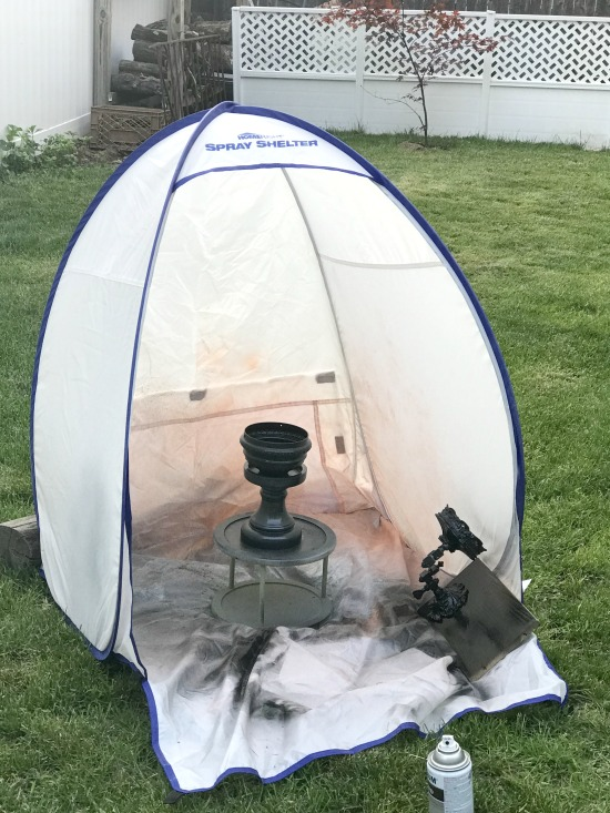 HomeRight Spray Shelter for Spray Painting Projects