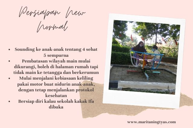 persiapan new normal life ala maritaningtyas