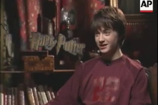 AP Archive: Harry Potter press junket interview (2001)