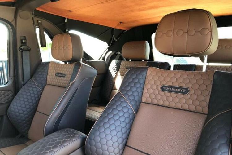Ngắm Mercedes G500 Cabrio Mansory 'bí ẩn' hơn 11 tỷ đồng