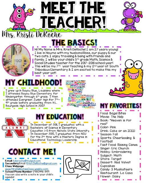 Keep calm and teach on for Free meet the teacher template