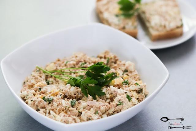 śniadania, pasta kanapkowa, pasta z tuńczyka, pasta jajeczna, pasta z jajkiem i tuńczykiem na kanapkę, pasta na kanapki, szybka pasta na kanapki
