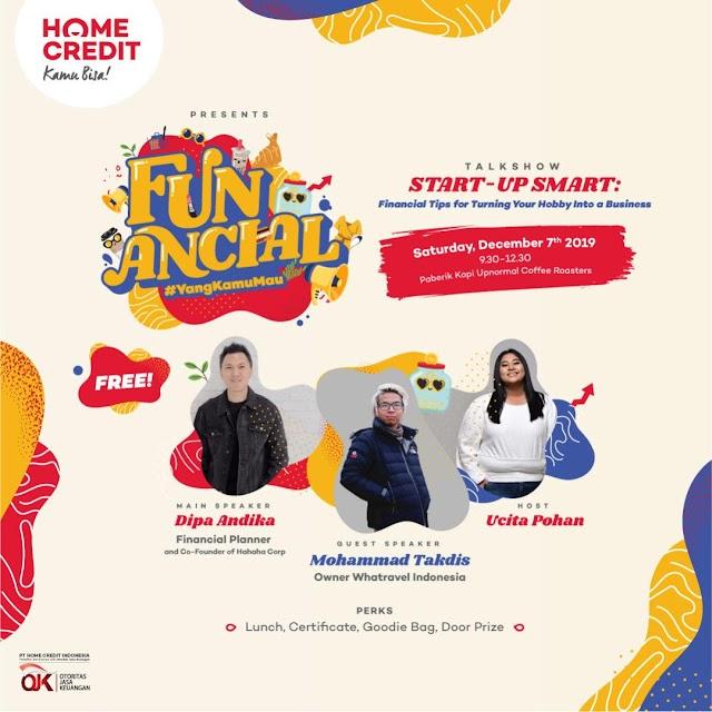 Tips Mengatur Keuangan Ala Financial Planner Dipa Andika dan Adis (Owner Whatravel Indonesia)