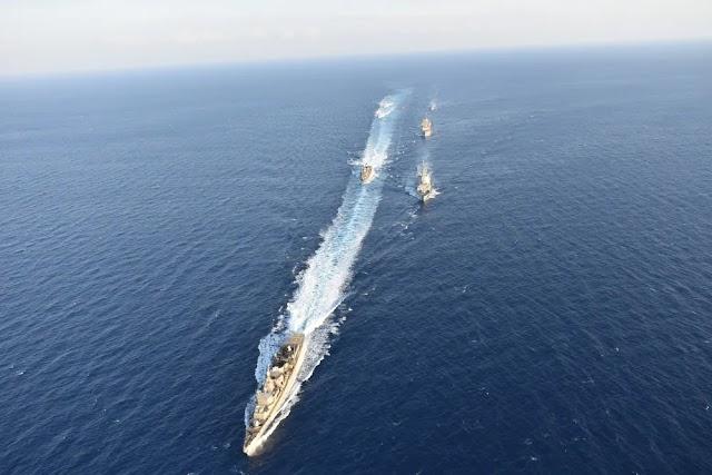 Στο Αιγαίο ο στόλος: Τουρκικές ασκήσεις και Ελληνική επιφυλακή την ώρα που όλα κινούνται στον αστερισμό των RAFALE