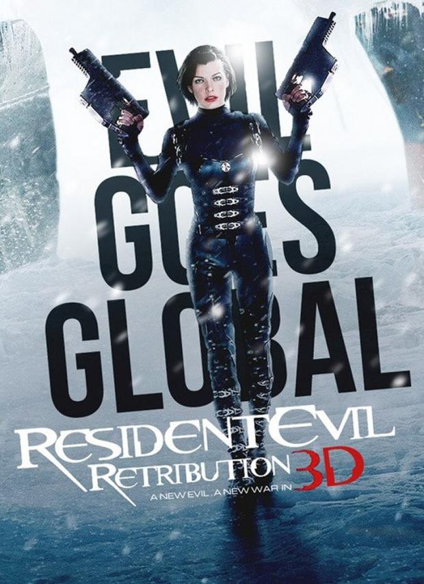 New Resident Evil Retribution Poster Plus Several Leaked Poster