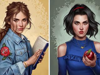 Ilustrador imagina as princesas da Disney vivendo em 2017