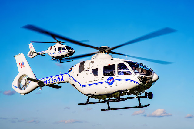 Two Airbus H135 helicopters delivered to support space exploration at NASA   MORE THAN FLY