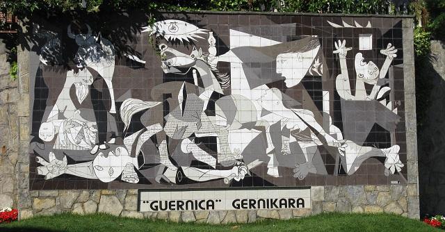 Gernika, el quadre fet moasïc