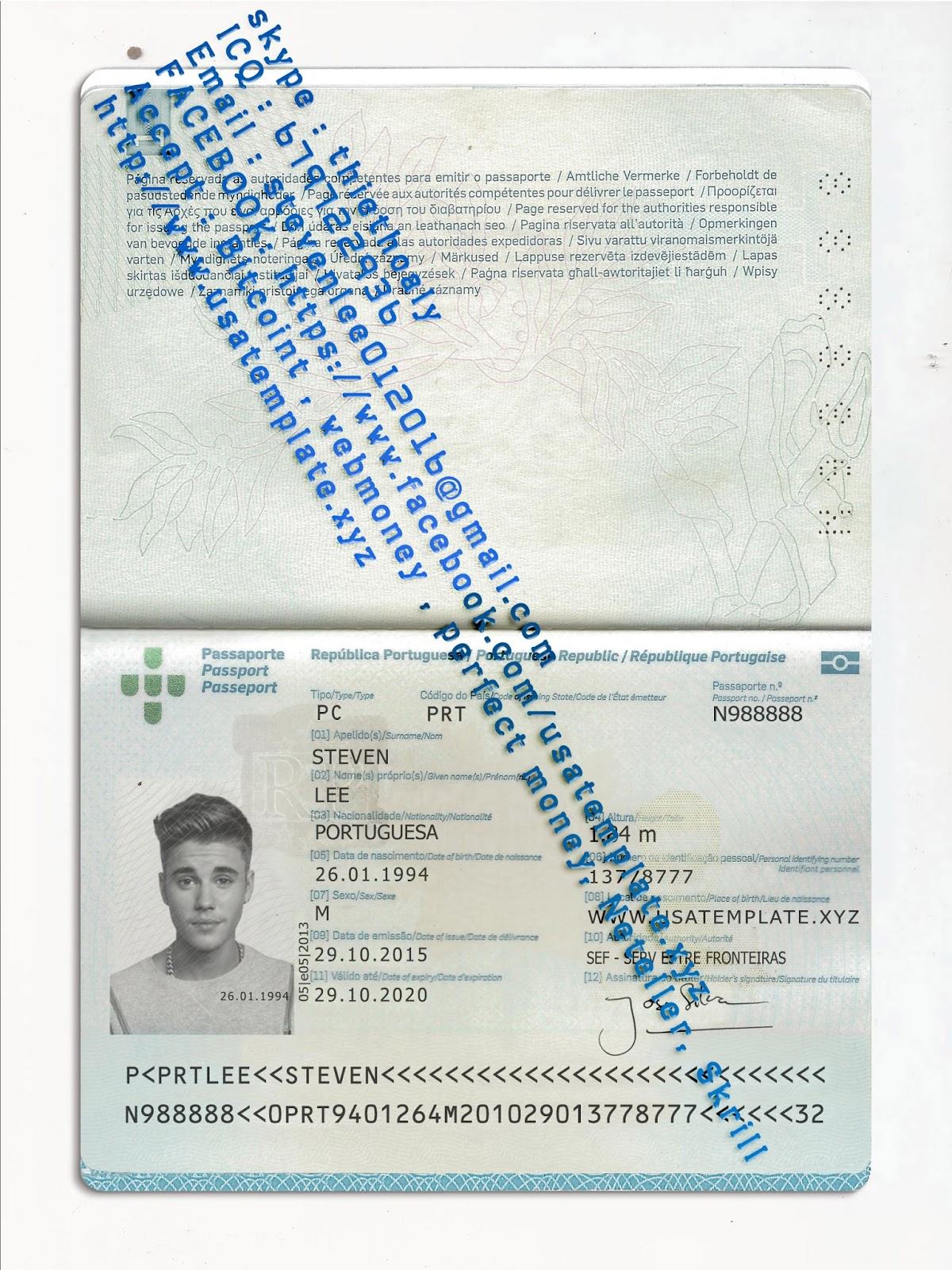 photoshop passport photo template v1 - Garry.biosalud.co