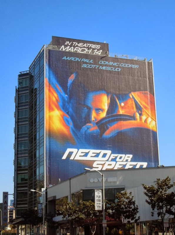 Giant Need For Speed billboard