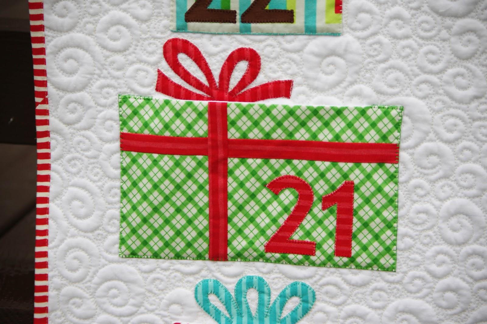 Advent Calendar Quilt Ahhh Quilting
