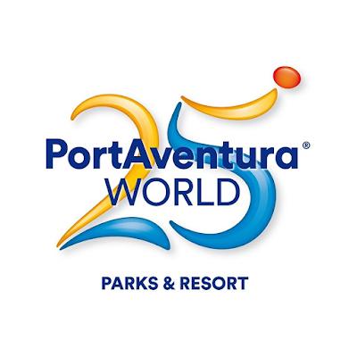 Logo PortAventura 25 aniversario