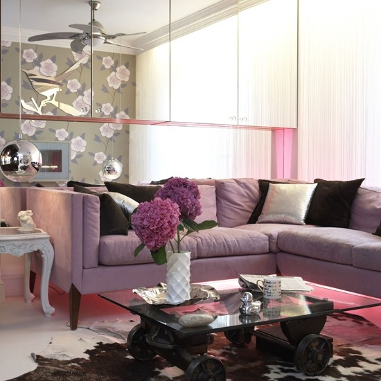 Stylish Living Room Decorating Ideas: Modern Furniture: 2013 Stylish And Feminine Living Rooms