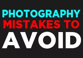 photography mistakes that a beginner photographer should avoid