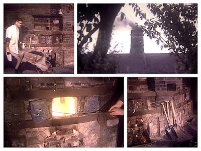 Gladstone Pottery Museum - Last Bottle Oven Firing 1978