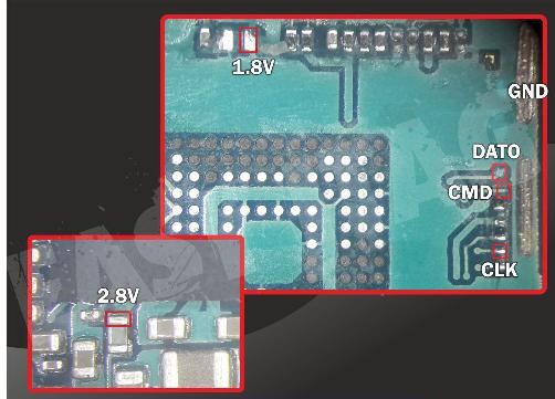 Samsung A520f ,A530f Dead boot repair direct emmc file download