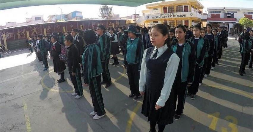 Suspenden clases escolares por paro en apoyo al valle de Tambo - Arequipa