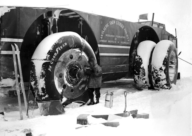 23 August 1940 worldwartwo.filminspector.com Antarctic snow cruiser