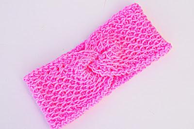 3 - Crochet Imagenes Bandana rosa a crochet y ganchillo por Majovel crochet muy facil y sencilla