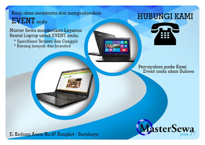 Rental Laptop Surabaya Siap Kirim Banyak Unit