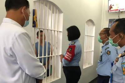 BNNP NTB dan Kadivpas saat Sambang Blok Tahanan