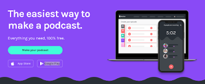 Anchor- A Tool for Creating Educational Podcasts