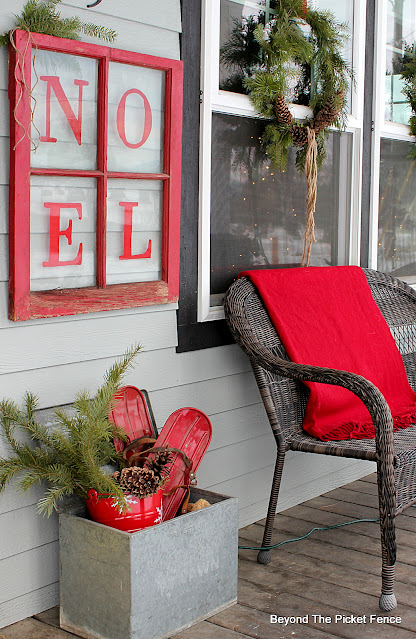 Front Porch Decor For Christmas