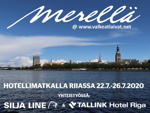Riika hotellipaketti Tallink