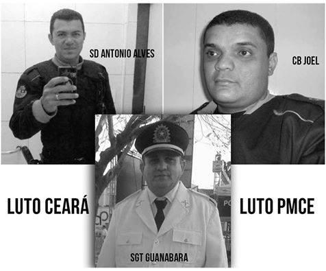 Quixadá: Três policiais militares são mortos em tiroteio (Áudio)