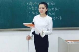 Guru Cantik Di Cina Dengan Pinggang Paling Indah