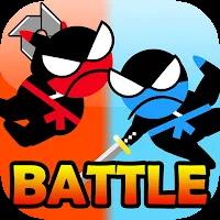 Jumping Ninja Battle – Two Player battle Action! Mod Apk