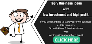Top 5 Business ideas with low investment and high profit | low investment business in india -earningsuite.