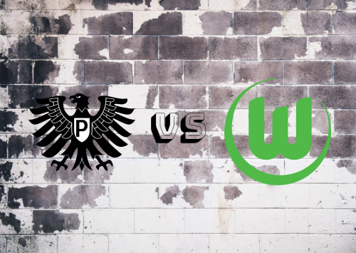 Preußen Münster vs Wolfsburgo  Resumen