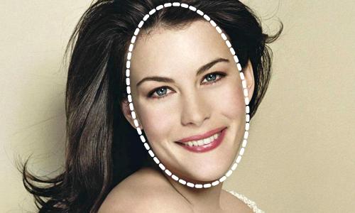 Liv Tyler rostro alargado