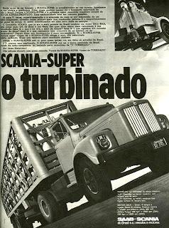 propaganda caminhão Scania - 1971