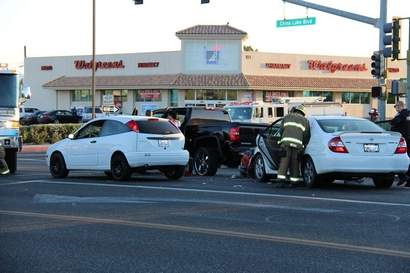kern county ridgecrest vehicle crash drummond and china lake boulevard