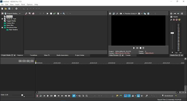 برنامج مونتاج فيديو الاحترافي للكمبيوتر Magix Vegas Pro 17