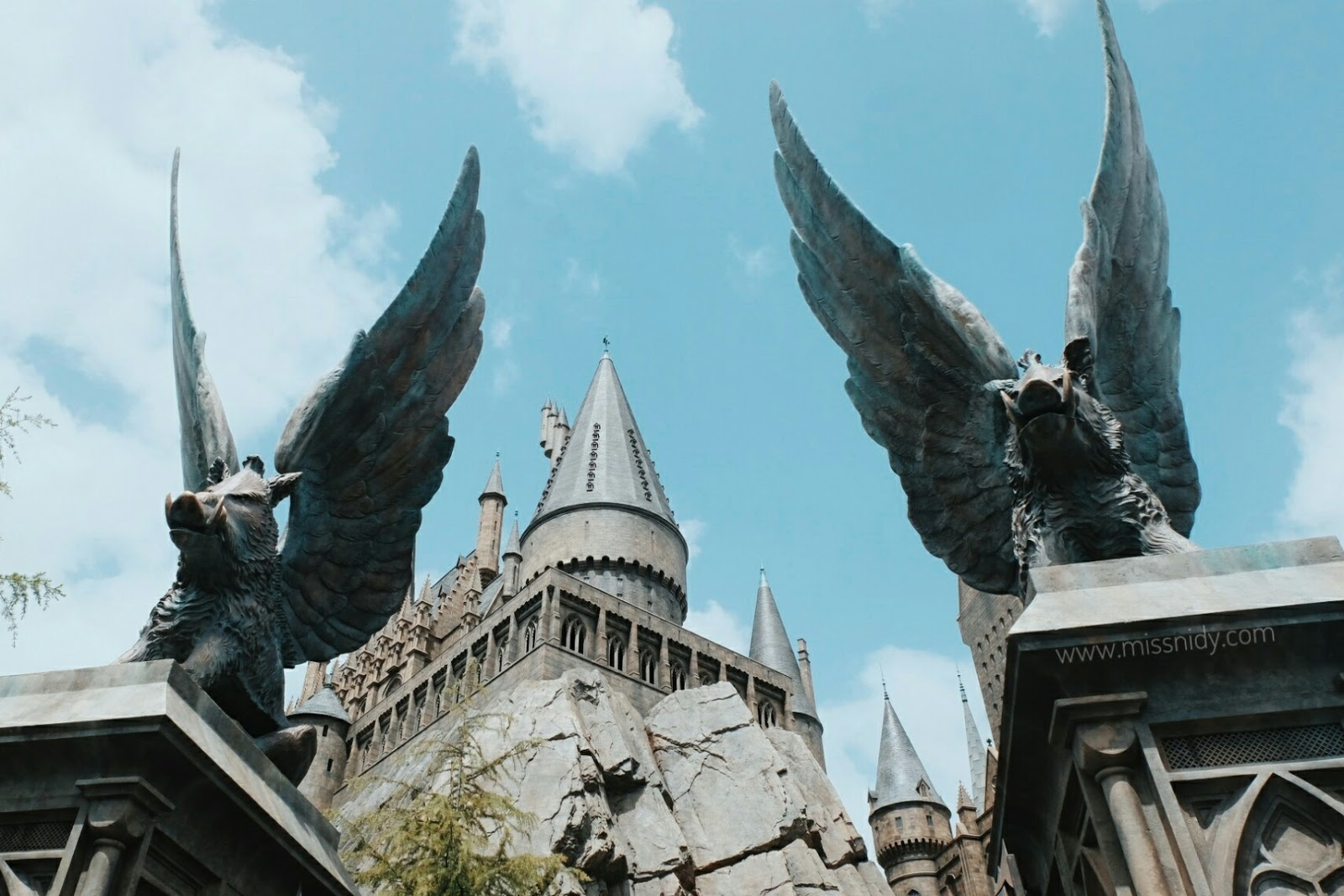 hogwarts castle universal studio japan